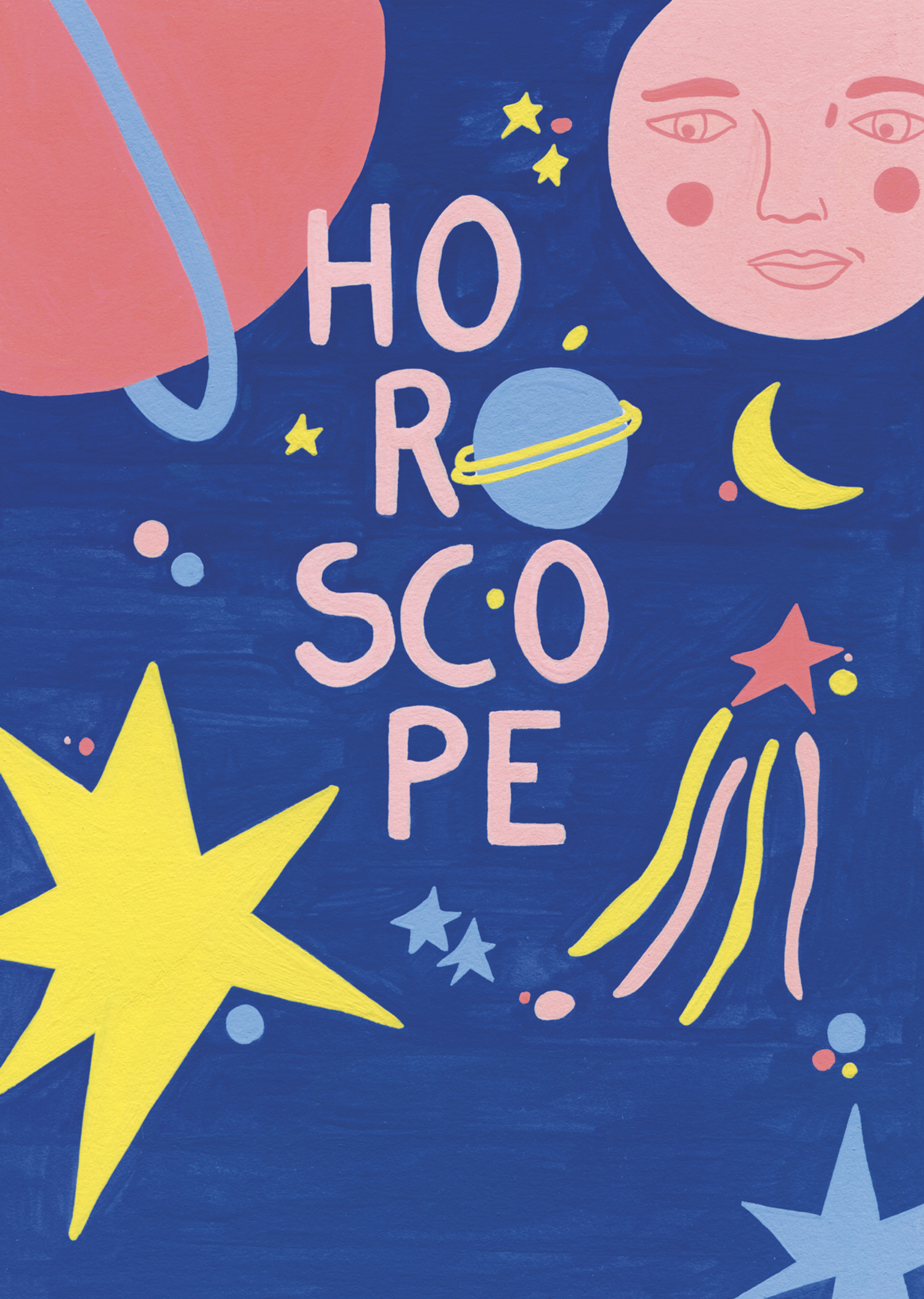 Marie-pellet-illustrations-gouache-horoscope-zodiaque-signes-constellation-étoile-soleil-editorial-portfolio